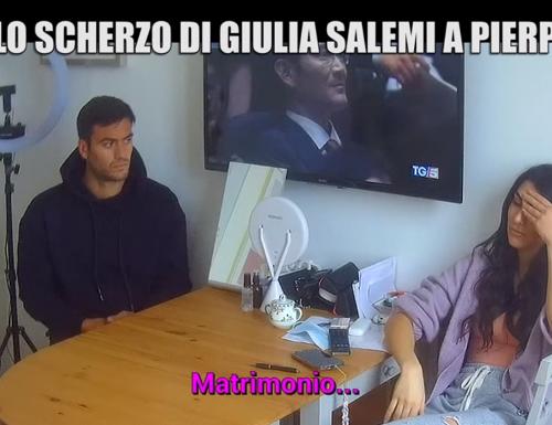 Stasera a #leiene, in prima serata su #Italia1, scherzo di Giulia Salemi a Pierpaolo Pretelli