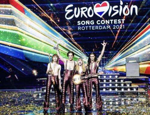 Italia sul tetto d'Europa con i Maneskin: vinto l'#Eurovision Song Contest dopo 30 anni! #EscIta