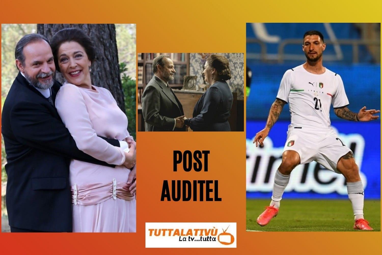 AscoltiTV 28 maggio 2021 · L'episodio finale de Il Segreto, l'amichevole Italia vs San Marino, Quarto Grado, La principessa Sissi, la fine di Daydreamer