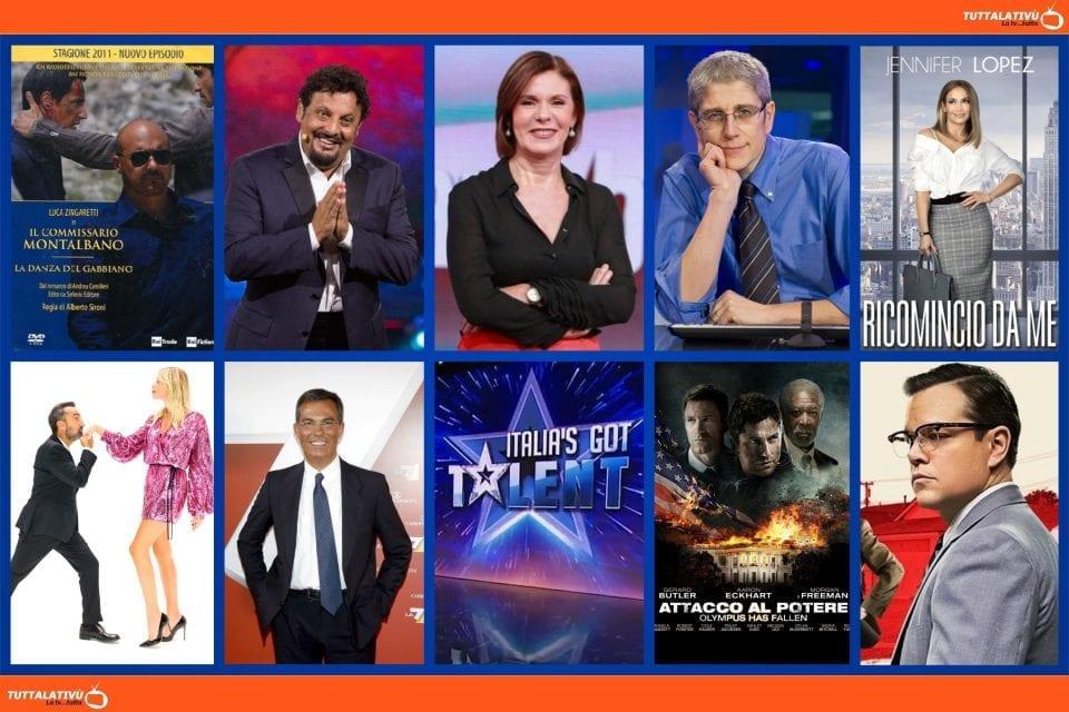 GuidaTV 18 Maggio 2021: Montalbano, Ricomincio da me, Le Iene, Un'ora sola Vi vorrei, la prima semifinale dell'Esc e Suburbicon