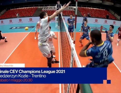 Volley, giornata di finali di #Champions: Trento e Conegliano protagoniste sulle reti Rai