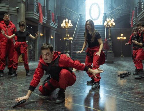 #Netflix svela le prime immagine della quinta stagione de #LaCasaDiCarta