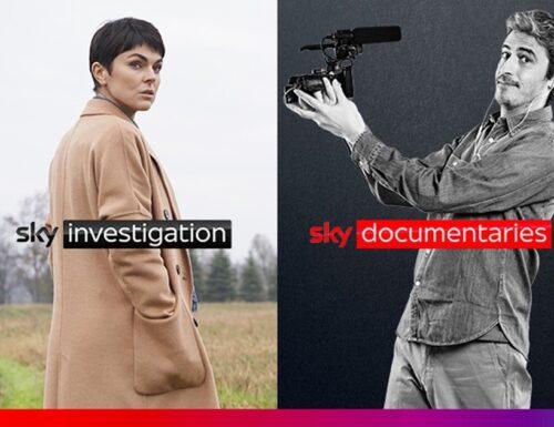 Dal primo luglio in arrivo su #Sky quattro nuovi canali: Serie, Investigation, Documentaries e Nature