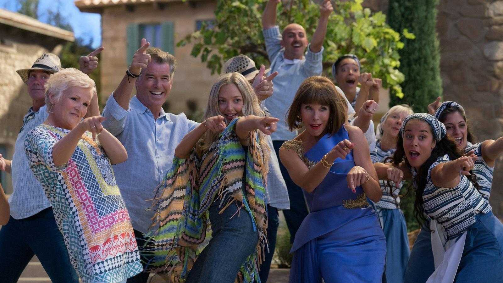 CinemaTivu: Mamma mia! Ci risiamo (USA 2018), con protagonista Amanda Seyfried, scritto e diretto da Ol Parker, in prima tv su Canale5
