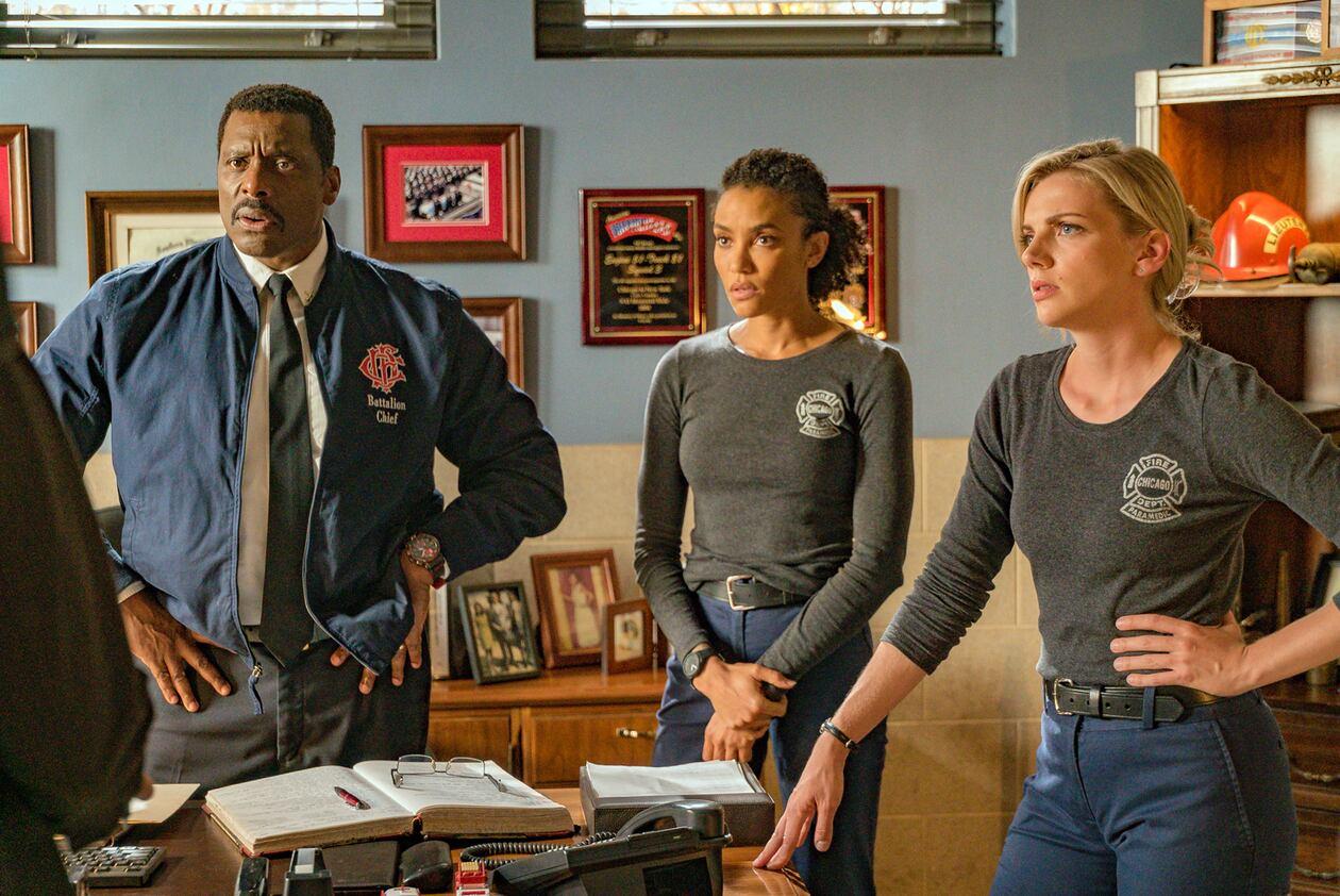 SerieTivu: Chicago Fire 8 secondo appuntamento. Tornano i pompieri e i paramedici del Chicago Fire Department, in prima tv free su Italia1