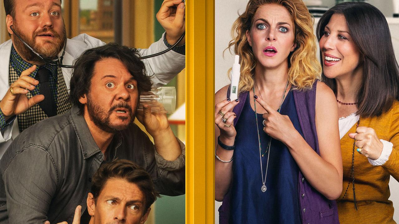 CinemaTivu: Nove lune e mezza (Ita 2017), di e con Michela Andreozzi e con Claudia Gerini e Giorgio Pasotti, in prima tv free su Canale5