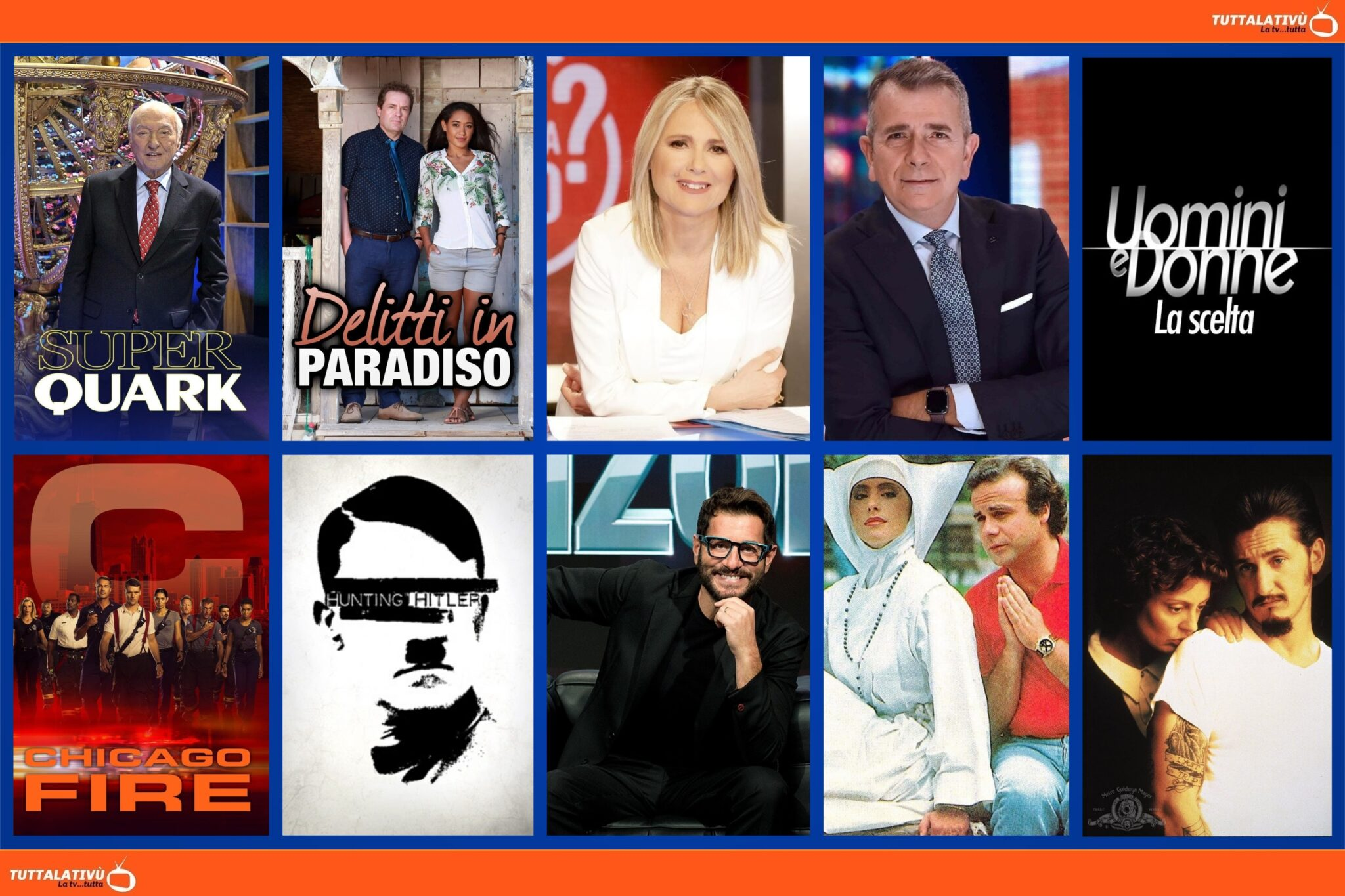 GuidaTV 14 Luglio 2021: Partono Superquark e Chicago Fire, Uomini e Donne: La scelta, Chi l'ha visto?, Delitti in paradiso, Dead Man Walking