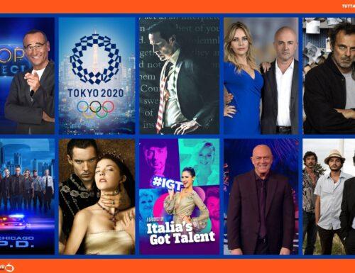 TuttalaTivu · GuidaTV 23 Luglio 2021: Partono le Olimpiadi di Tokyo 2020, l'ultima puntata di Masantonio, Top Dieci, Quarto Grado, Chicago PD, I Tudors, Basilicata coast to coast (su Cine34)