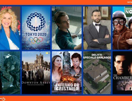 TuttalaTivu · GuidaTV 24 Luglio 2021: Le Olimpiadi di Tokyo 2020, The Voice Senior vs Benvenuti al Nord, Una Vita, Jurassic Park, Opera senza autore, L'ultimo appello (su Iris)