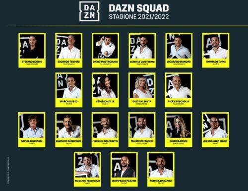 """Presentata la nuova squadra di #Dazn, con conferme e debutti, e la novità """"The Square"""""""