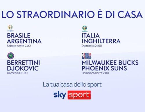 La domenica storica dello sport italiano è tutta da vivere sui canali #SkySport: il programma!