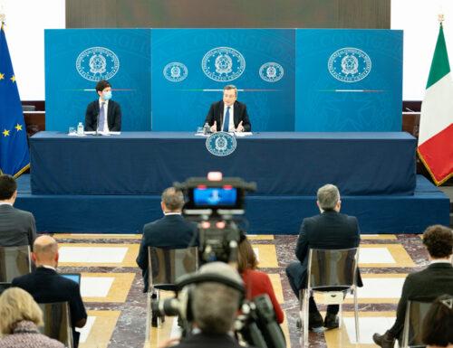 Stasera conferenza stampa del Presidente del Consiglio Mario Draghi: come cambiano i palinsesti