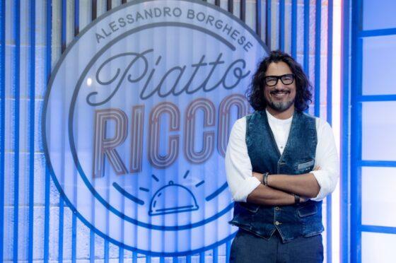 """A settembre la novità """"Alessandro Borghese Piatto Ricco"""" approda nel preserale di #Tv8"""