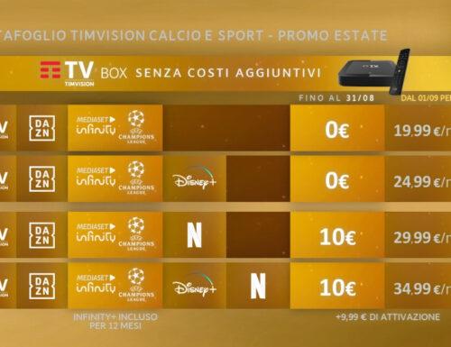 Presentata l'offerta di #TimVision per la prossima stagione tra sport, film, serie tv e produzioni originali