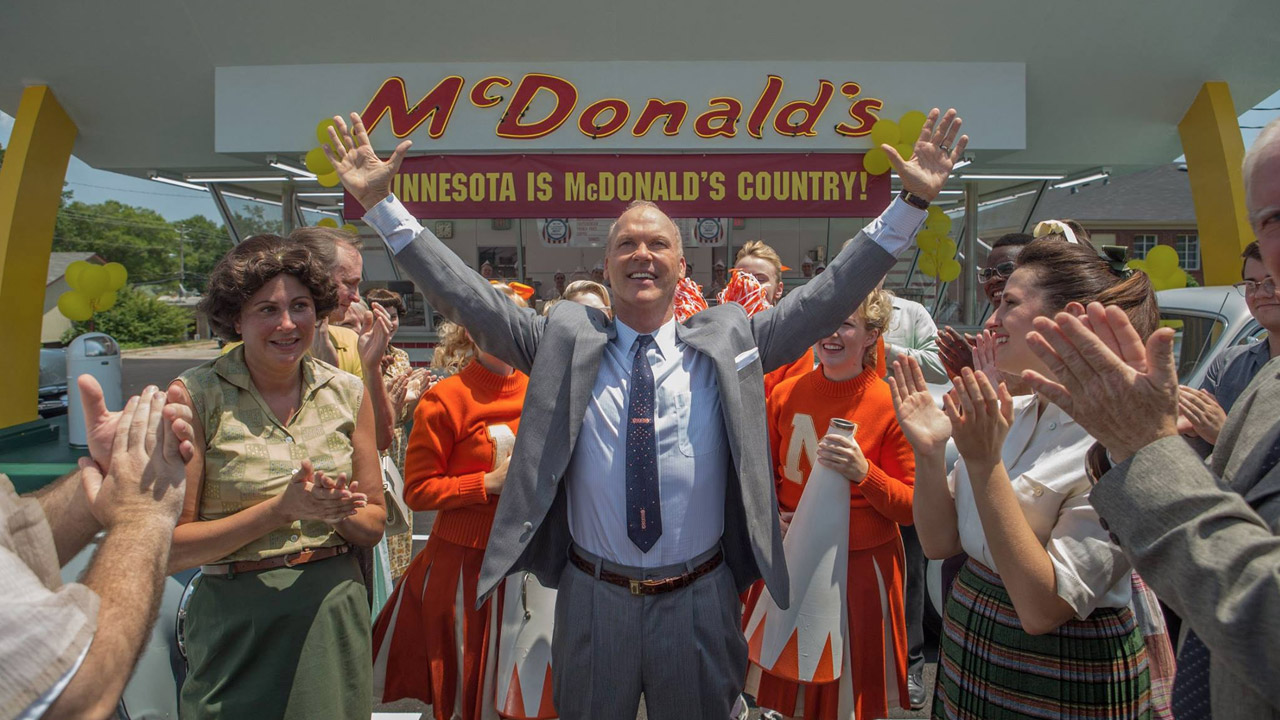 CinemaTivu: The Founder (USA 2016), con Michael Keaton nei passi di Ray Kroc, diretto da John Lee Hancock, in prime time su RaiUno