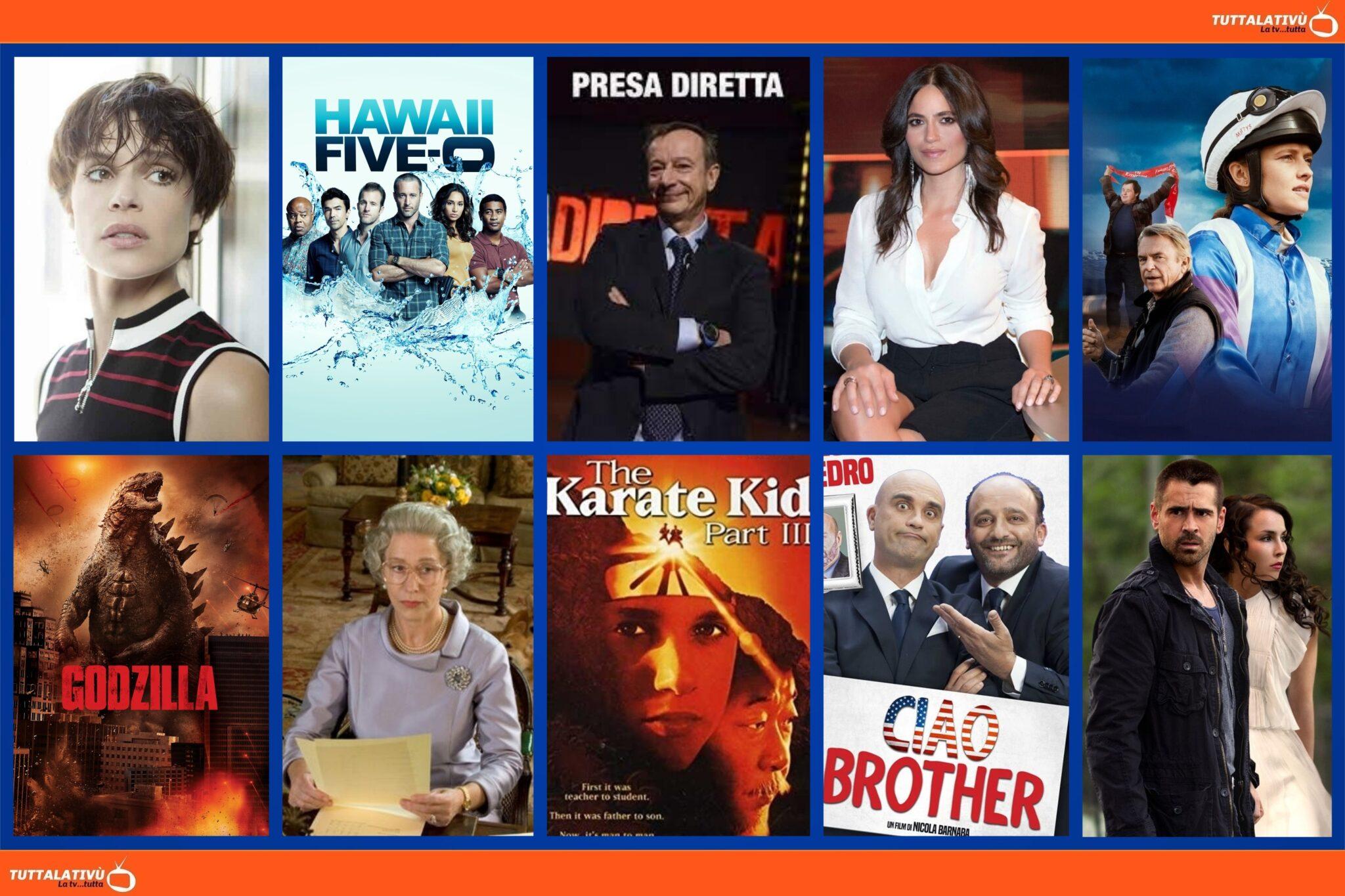 GuidaTV 30 Agosto 2021: Una storia senza nome, La campionessa, Presadiretta, Controcorrente, The Queen, Dead Man Down (su Cielo TV)