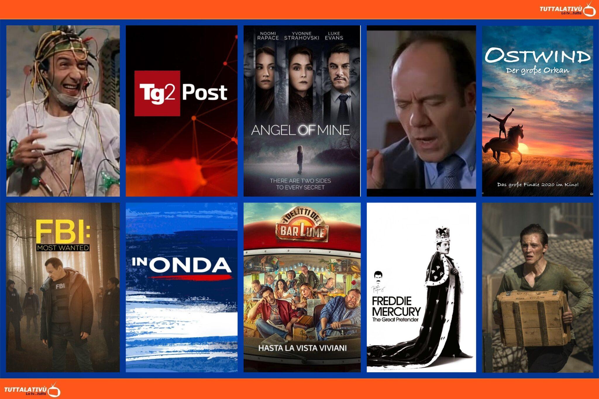 GuidaTV 26 Agosto 2021: Il mostro, Windstorm 5 uniti per sempre, Tg2 Post sul disastroso attentato a Kabul, FBI: Most Wanted, Deutschland 86