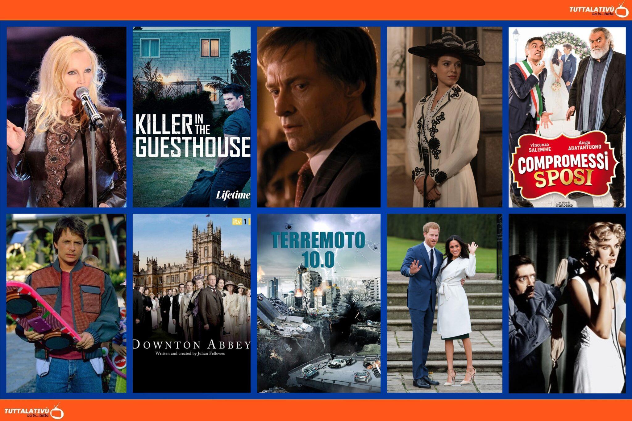 GuidaTV 28 Agosto 2021: Compromessi sposi, A grande richiesta (best of), Il killer della porta accanto, Una Vita, Ritorno al futuro II, Il delitto perfetto