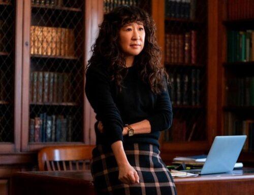 L'amatissimo volto di #GreysAnatomy, Sandra Oh, protagonista de #LaDirettrice su #Netflix #TheChair