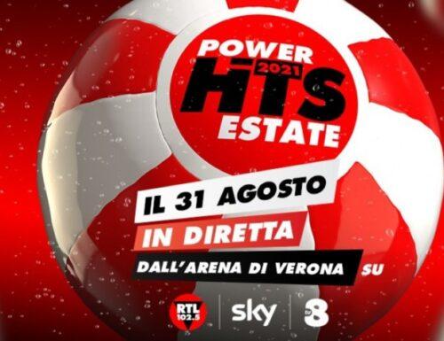 Stasera il grande evento #PowerHitsEstate2021 dall'Arena di Verona: dirette su Rtl, #Tv8 e #SkyUno