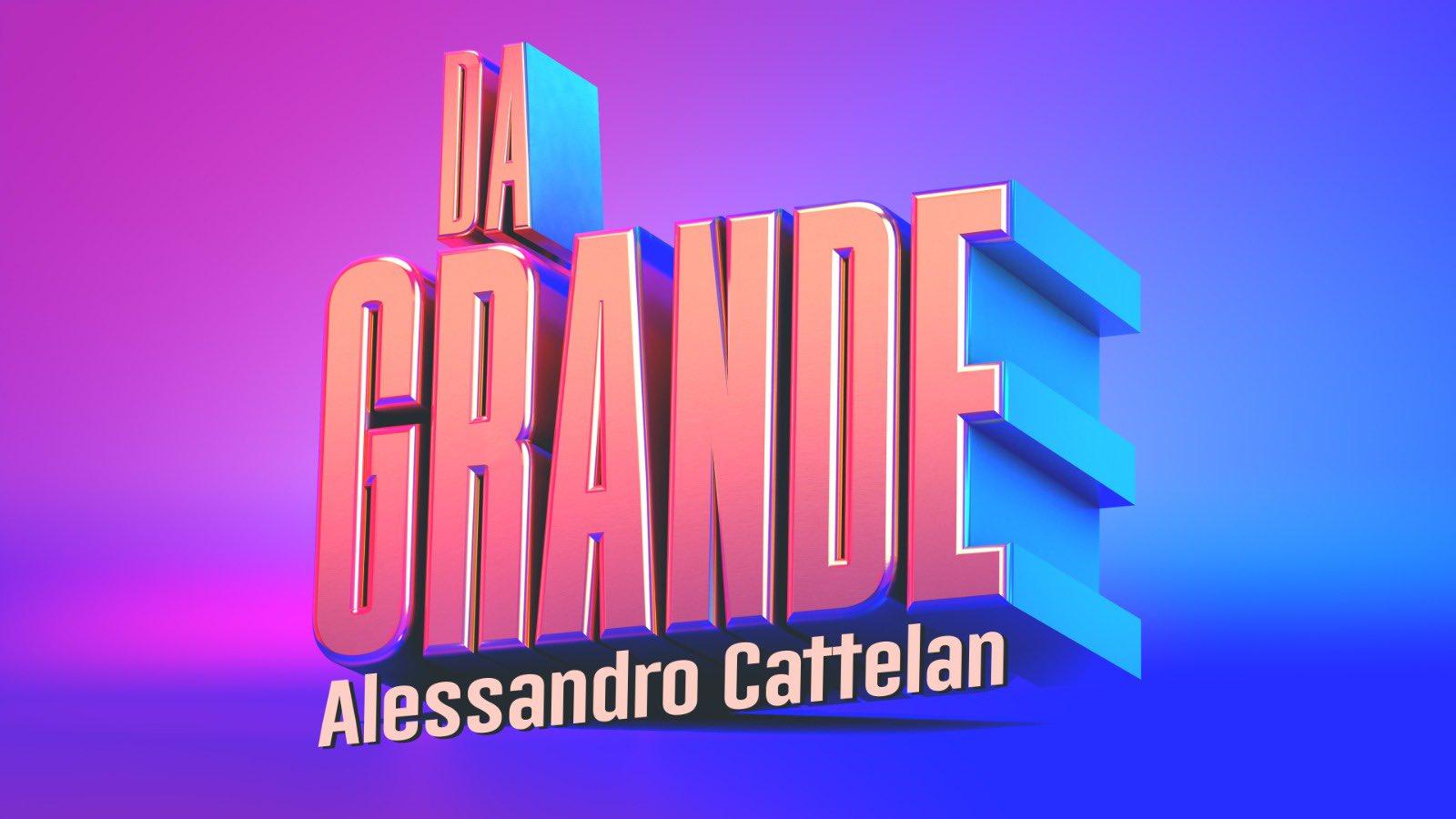Intervista ad Alessandro Cattelan, a pochi giorni dal debutto con Da Grande sulla rete ammiraglia Rai, da domenica 19 settembre in prime time