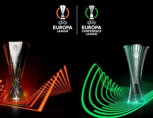 Europa e Conference League, stasera #LazioMarsiglia, #NapoliLegia e #GlimtRoma: il programma