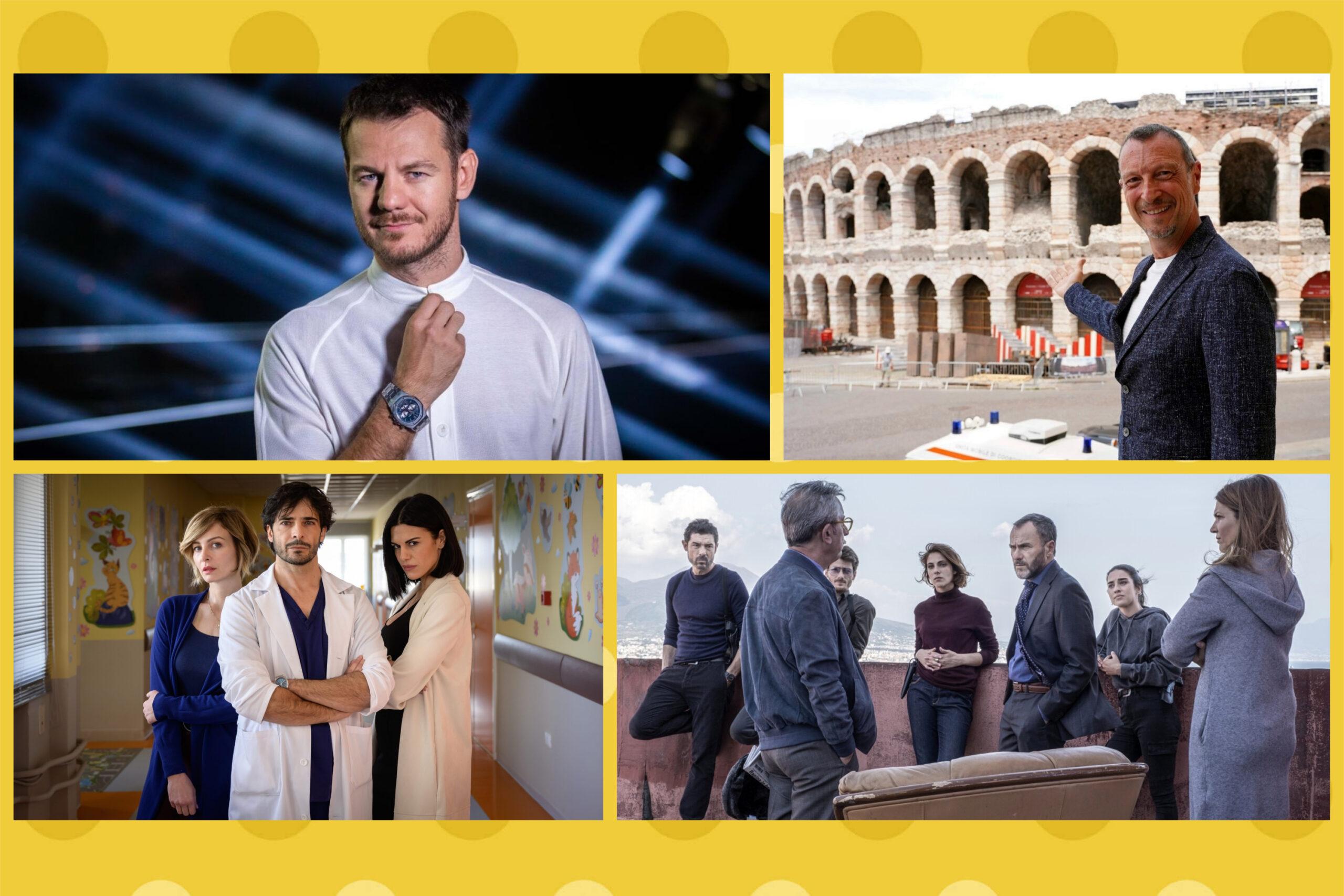 Programmazione 19 - 25 settembre 2021 Rai e Mediaset: Da Grande, Arena Suzuki '60 '70 '80, I Bastardi di Pizzofalcone 3, Fino all'ultimo battito