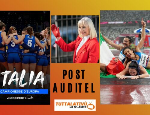 AscoltiTV 4 settembre 2021 · L'Eurovolley con Italia vs Serbia vince anche in tv (14,94%), il cameo della Carrà a Ballo Ballo (9,31%), L'ora legale (12,10%), Follia ad alta quota (5,55%)