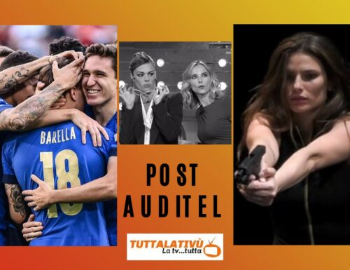 AscoltiTV 10 ottobre 2021 · Spagna vs Francia (22,87%), Scherzi a parte (15,20%), Che tempo che fa (11,51%). In daytime, Italia vs Belgio (34,61%), Venier (16,55%), Fialdini (18,09%)
