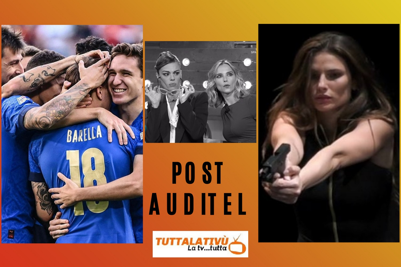 AscoltiTV 10 ottobre 2021: Spagna-Francia, Scherzi a parte, Che tempo che fa, Domenica in, Italia-Belgio, Beautiful, Una vita, Love is in the air