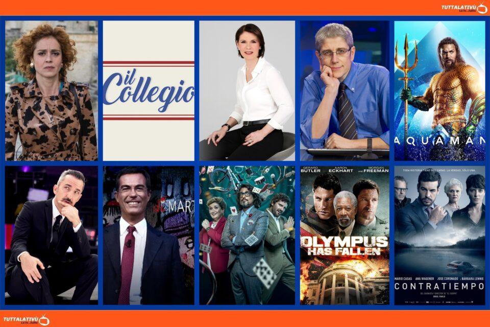 GuidaTV 26 Ottobre 2021: Partono Imma Tataranni 2, Il collegio e Game of talents, tra Aquaman, Le Iene Show, GFVip ed il film Contrattempo