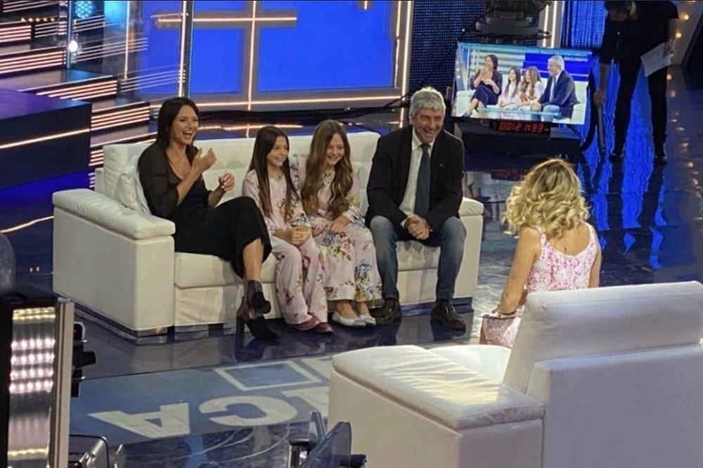 Live 8 marzo 2020 Domenica Live (Canale 5)